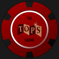 Fallout New Vegas Tops Casino poker chip by JaggedGenius