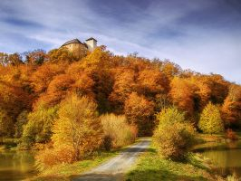 Burg Lockenhaus by realityDream