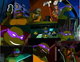 Donatello pics by MegaRaphael17