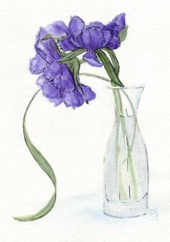 Watercolor sketch 3 by Diavell