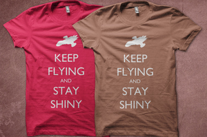 Keep Flying and Stay Shiny by perdita00