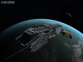 X-320 Proteus by FrostB
