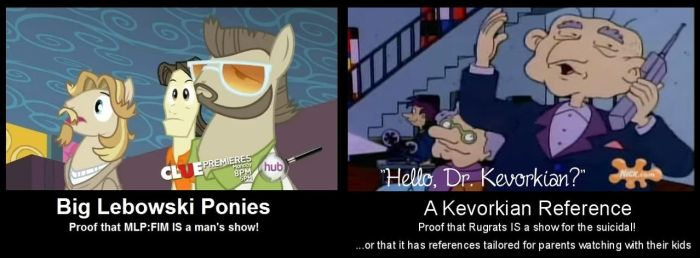 Rugrats Euthanize Bronies Over Big Lebowski Ponies by UncleJeff740