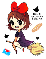 Kiki's Delivery Service! by mieille