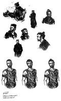 Auror Potter Sketches #1 by blvnk-art