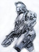 Master Chief by n3utr0n