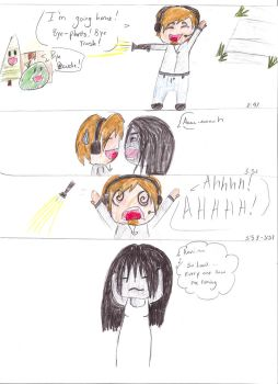 PewDiePie plays Grudge: Comic! by A-Scary-Little-Girl