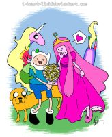 Adventure Time: Flowers for PB by I-heart-Link