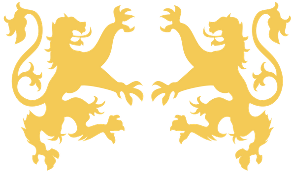 ramparting lions by aching