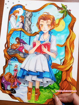 +Beauty and the Beast+ by larienne