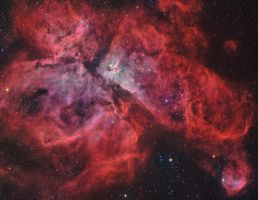 The Grand Carina Nebula by turbulentvortex