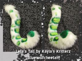 Lefa's Tail: Commission by BlueWolfCheetah