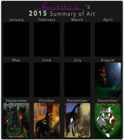|2015 Summary of Arts| by RunieDesu