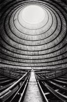 The Eye of the Cooling Tower II by Dapicture