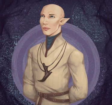 Dragon Age: Inquisition - Solas by AllNamesAreClaimed12