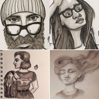 Recent Traditional Sketches  by MeganRoseThomas