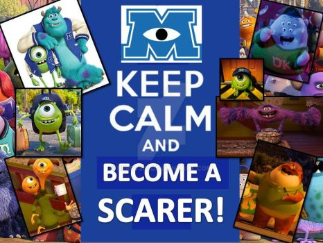 Keep Calm and Become A Scarer by berry331