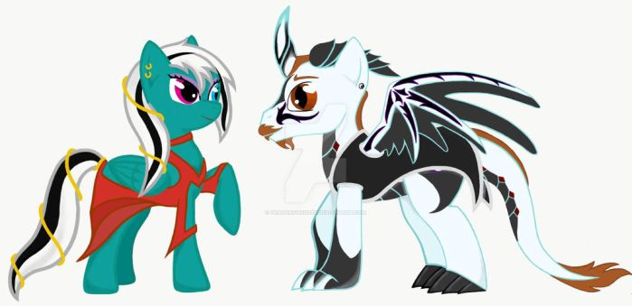 MLP  by DragonFoxOzzy