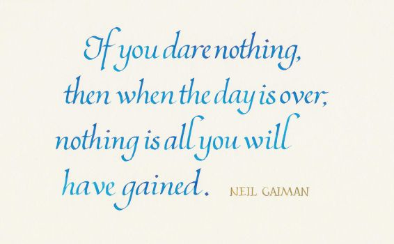 Neil Gaiman - If You Dare Nothing by MShades