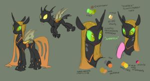 Changeling concept: The Honeycomb Hive by Siansaar