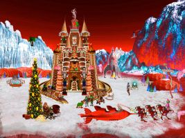 North Pole 2075- Santa On Mars by surreal1st1cp1llow