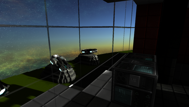 StarMade - Airport Control Tower - Runway View by thakyZ