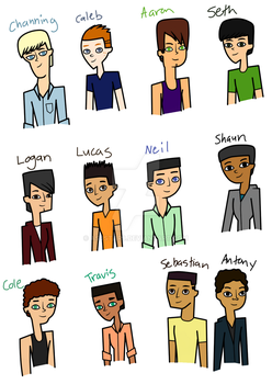 Total Drama Sons by ASJstar9