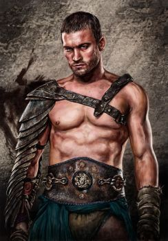 Tribute to Andy Whitfield by TelorLaeda