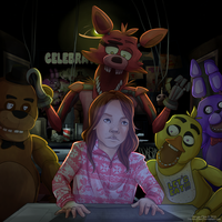 Commish: Five Nights at Freddys by Decora-Chan