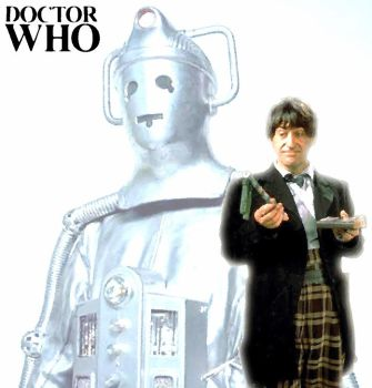 2nd Doctor and the Cybermen by Rebus1746