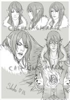 C: Shikei sketchpage by cathrine6mirror
