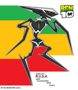 BEN 10 ALIEN RUSH FAN MADE by frgrgrsfgsgsfgggsfsf