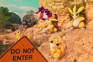 Wild Ground and Rock pokemon in Grand Canyon