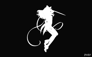 RWBY Silhouette Wallpapers:  Blake by Mattpc