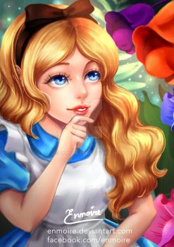 Alice by enmoire