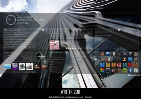 Rainmeter skin: Desk Cloud 2.1 ::teaser:: by UltimateRT