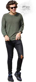 Harry Styles render 015 [.png] by Ithilrin by Ithilrin