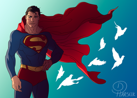 DC - Look to the Sky by Harseik