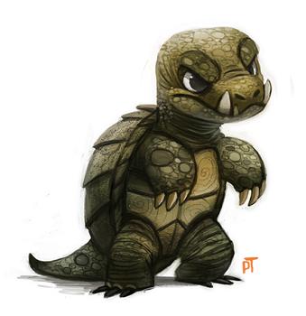 Day 539. Kaiju - Gamera by Cryptid-Creations