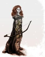 Ice and Fire - Ygritte by yakuzafish