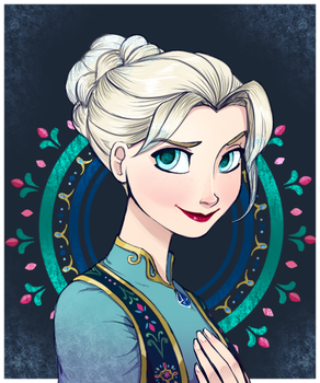 The Snow Queen by chocolatesmoothie