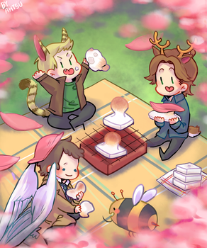 [SPN] Between with Winter and Spring by Ahtsu