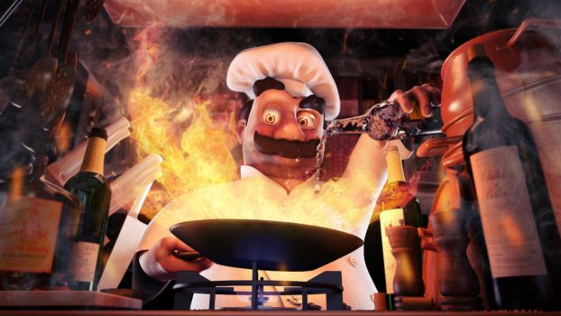 Luigi The Mad Cook by fishsnack