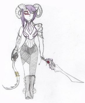 Darja - beginning sketch and color by lxlCerebralProxylxl