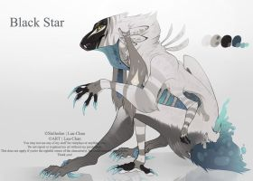Auction - Black Star Adopt #2| Stellodon (SOLD). by 0Lau-Chan0