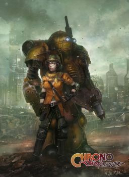 Lucca and Robo by TylerEdlinArt