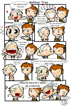 Balthier Tries -COLOROMG- by LadyOCloud7