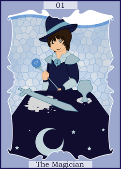 Jumpe Tarot: Magician by Pellimore