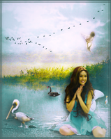 blue fairy pond with 02 BIG pack by Bublla action by icu109