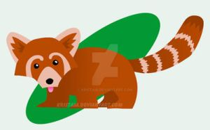 Cute Day - Red Panda by kristaia